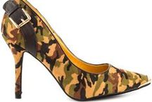 Camouflage Shoes / Be ready for a style battle in these Camo prints! / by Heels.com