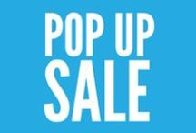 Pop Up Sale / This is the beginning of a beautiful relationship.  AWE's Pop Up Sale is underway and we're offering a stunning selection of never before seen and limited quantity items at up to 50% off! We'll be constantly adding new products to the sale, so stay tuned to this board and be the first to see the new items...