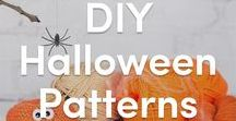 DIY Halloween Knitting Patterns / The best collection of petrifying patterns! Be inspired to make your own Halloween decorations and costumes with these spooky knitting patterns for a horrifying Halloween! Find pumpkins, bats, witches, and ghosts here at LoveKnitting!