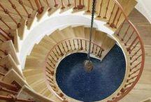 Escaliers et spirales