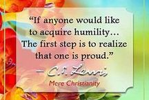 Humility Is / by Casandra McCottrell