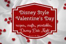 Disney Valentine's Day / by Deb, Focused on the Magic