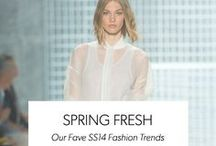 SPRING FRESH | SS14 / From Monochrome to Metallics, Art Pop to Pastels and Shirts to Ankle Socks - Here's The SS14 Trends Getting Us All Giddy. / by WAREHOUSE
