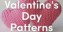 Valentine's Day Knitting Patterns / A board devoted to knitting for love <3 Knit yourself or your loved one anything hearts, red, and pink inspired this Valentine's Day with our knitting patterns and knitting tutorials.
