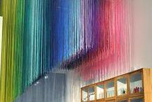 DESIGN decoration - dekoracja / Wspaniałe  dekoracje i  instalacje - czasem trącą o geniusz a czasem powalą prostotą
