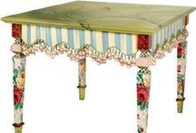 INSPIRE painted furniture- malowane meble