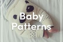 Baby Knitting Patterns / A lovely collection of our favorite and most popular knitting patterns for babies. Perfect projects ranging from baby booties, baby blankets, onesies, and more! Find FREE patterns and independent designer patterns at LoveKnitting.