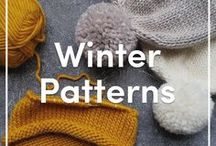 Winter Knitting Patterns / Hats, gloves, scarves, shawls, throws - every knitting pattern you need to stay cozy during winter! Discover your favorite cold weather knits you'll want to wear even once the snow melts!