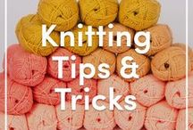 Knitting Tips, Tricks & Reviews / Everything you need to know about the world of knitting right here! From handy tips and tricks for better technique to reviews of the latest products, you'll find everything you need to know about knitting on this board!