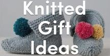 Knitted Gift Ideas / An inspiring collection of knitted gifts for mothers, babies, and friends alike! Find the perfect knitting pattern for gifting to all family and friends.