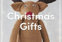 Christmas Knitting Gifts / Great gifts to make or give for craft lovers this Christmas! Or send pins to your loved ones for your own gift wishlist! Find all the best knitting patterns here at LoveKnitting.