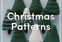 Christmas Knitting Patterns / A great selection of both purchasable and free Christmas Knitting patterns & crochet patterns to get you ready for the festive period. Or why not share pins with your loved ones to give them a hint at what you want this Christmas!