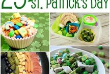 St. Patrick's Day Crafts, Recipes, and Resources / St. Patrick's Day recipes, crafts, printables, snacks and more.