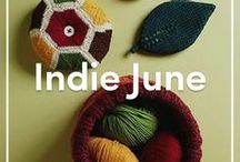 Indie June / We're giving full control of our Instagram and Pinterest pages to some of our wonderful LoveKnitting Independent designers for our Indie Designer Month! They'll be sharing their favourite patterns and Spring inspiration.