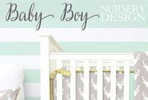 Boy Nursery Inspiration / Designing your boy's nursery can be just as fun as designing a baby girl's.  Find all the ideas & inspiration you need to design your dream baby boy's nursery right here.