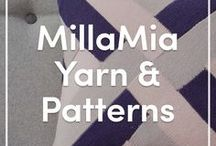 MillaMia Knitting Yarns and Patterns / Millamia's beautiful extra-fine Merino wool, in an array of gorgeous colours, is supported by their fantastic range of classically Scandinavian knitting designs, from simple to super-challenging. Take a look at some of their best pattern picks and yarns!