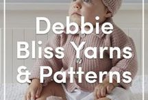 Debbie Bliss Yarns and Patterns / A board full of your favorite Debbie Bliss knitting patterns and yarns + discounts, competitions and inspiration!