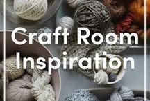 Craft Room Inspiration / These dream craft rooms would be the perfect home for your stash!