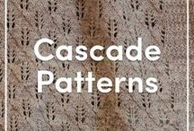 Cascade Knitting Patterns / Take a look at these beautiful Cascade Knitting Patterns available at LoveKnitting.Com! Indie and FREE patterns to check out!