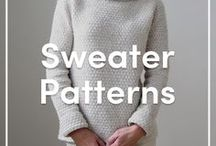 Sweater Knitting Patterns / Gorgeous sweaters and jumpers that make for stunning gifts or simply to knit for yourself! Find all our patterns at LoveKnitting.Com.