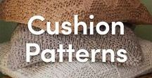 Knitted Cushion Patterns / Personalize your home with these lovely knitted cushion patterns! Adding knitted throw pillows to your couch or your bed makes any space more cozy.