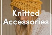 Knitted Accessories / Do you love to accessorize your outfits with a quick project? We have the most stylish knitted bags, hats, and jewelry for you. Check out these accessories patterns you'll want to knit over and over again!