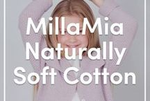 MillaMia Naturally Soft Cotton Yarns & Patterns / Discover this gorgeous new yarn by MillaMia and the cute children's knitting patterns that go alongside it!