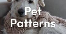 Pet Knitting Patterns / Pets in knits are the cutest don't you think?! Explore our picks of pet knitting patterns, and get started on your next pet project. Visit LoveKnitting.com for dog jumpers, cat toys, and more!