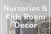 Nurseries & Kids Rooms Knitted Decor (Gender Neutral) / We love knitting and crocheting all sorts of cute things for the little ones like garments, decoration and toys -  and we don't like being restricted to only blues and pinks! So take a look at our gender neutral crafty ideas for kids & babies!