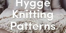 Hygge - knitting patterns for a cozy time / Hygge has taken the Internet by storm and we love finding new ways of keeping our home warm, cozy and welcoming! Find fabulous patterns to knit your way to a cozy home right here.