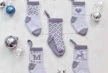 Baby's First Christmas Patterns / The perfect knitting patterns to celebrate baby's first Christmas.