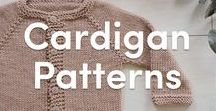 Cardigan Knitting Patterns / Browse through a wide variety of patterns for knitted cardigans for women and children! Whether you're knitting simple stockinette stitches or trying your hand at a cable stitch, there's a pattern for everyone!