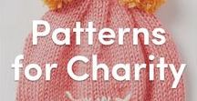 Knitting Patterns for Charity / Knitting for charity plays such an important role in the Knitting community! Find fabulous FREE knitting patterns so you can donate your own knitted projects to charity right here!