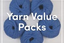 Value Packs of Knitting Yarn / Find the best of our knitting yarns in affordable value packs. Buy your knitting yarns in bulk with our discounted value packs in a range of knitting yarn brands and fibres. Available at LoveKnitting.