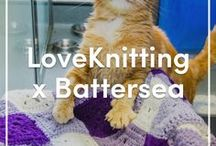 LoveKnitting X Battersea Dogs & Cats Home / LoveKnitting is excited to be working with the Battersea Dogs & Cats Home to help raise money and awareness for the great work that they do. For every knitting and crochet pattern that you purchase from our Battersea Charity knitting and crochet pattern collection, 100% of the profits will be given to the Battersea Dogs & Cats Home!