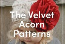 The Velvet Acorn Knitting Patterns / Discover The Velvet Acorn knitting patterns for both children and adults available at LoveKnitting.Com/US/! All of your favorite pullovers, cardigans, and hats are right here.