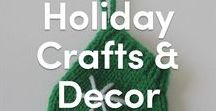Holiday Knitted Crafts & Decor / Celebrate the holidays with LoveKnitting and LoveCrochet for a very special end of the year! For all things merry, find our patterns and tutorials all in this board! Christmas, Chanukah, New Year's and more- patterns for every holiday.