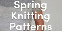 Knitting Patterns for Spring / Discover the perfect knitting patterns for spring - we have patterns for knitted baby garments, knitted toys, and fun, stylish knitting patterns for men and women. Find everything at LoveKnitting!