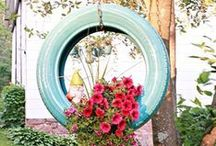 Outdoor Decor / Try these fun and innovative DIY backyard and outdoor ideas that will make your yard look it's best. / by Woman's Day