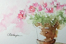Watercolor / by Maria Schneider