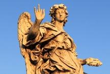 Rome's Angels - Ponte Sant'Angelo - Castel Sant'Angelo - Rome