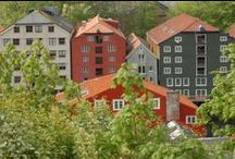 Trondheim, Norway (my own photos) / The 3rd largest city in Norway. Located in the middle of Norway.