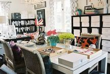 Home Office / I am constantly on the lookout for home office organization ideas alongside high style. I am currently planning my own home office reno. Join me as I search for the perfect balance of functionality and design!