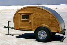 Teardrop Trailers / Teardrops  / by Tiny House Blog