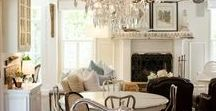 Design Profile: Rustic Glam / The juxtaposition of aged wood and crystal makes me oh so happy!