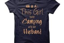 Glamping / We are in the middle of a camper-to-glamper renovation! No, we've never really camped before. Just once in 20 years of marriage. But we can't wait for our wanderlust adventures!