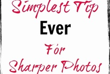 How to take better pictures / Great tutorials on how to take pictures and use a camera correctly / by Cre8tive Designs Inc.