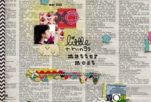 Scrapbooking ideas / by Tanya Soutar