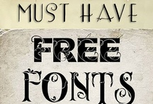 Fun Fonts & Printables / by Shannon Reynolds