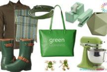 greens / A selection of green!